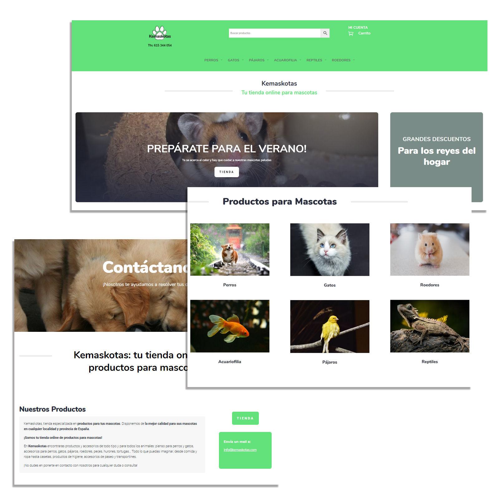 Diseño web kemaskotas